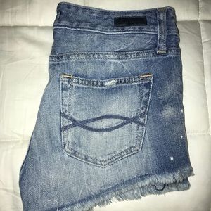 Abercrombie distressed shorts